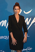 London, UK. 19 January 2016. Singer and TV presenter Stacey Solomon. Celebrities arrive on the red carpet for the London premiere of Amaluna, the latest show of Cirque du Soleil, at the Royal Albert Hall.