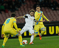 Jose Canas<br /> <br />  UEFA Europa League round of 32 second  leg match, betweenAC  Napoli  and Swansea City   at San Paolo stadium in Naples, Feburary 27 , 2014