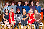 Kathleen O'Shea from Marian Park, Tralee celebrating a special birthday with her sons and daughters in the Ballygarry House Hotel on Friday.<br /> Seated l to r: Linda, Anita and Kathleen O'Shea, Lucy Horan, Evonne Duggan, Brenda and Bernadette Broderick.<br /> Back l to r: Gary, Jason, Michael, John, Robert and Tony O'Shea.