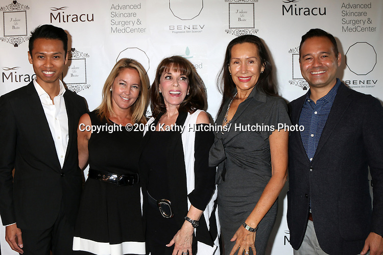 LOS ANGELES - OCT 15:  Executives, Erin Murphy, Kate Linder, Mara New at the BENEV Skincare Event at the Advanced Skincare MedCenter on October 15, 2016 in Los Angeles, CA