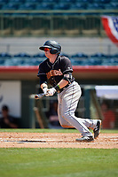 Jupiter Hammerheads Gunnar Schubert (5) bats during a Florida State League game against the Florida Fire Frogs on April 11, 2019 at Osceola County Stadium in Kissimmee, Florida.  Jupiter defeated Florida 2-0.  (Mike Janes/Four Seam Images)