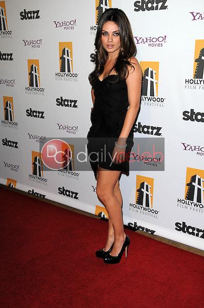 Mila Kunis<br /> at the 14th Annual Hollywood Awards Gala, Beverly Hilton Hotel, Beverly Hills, CA. 10-25-10<br /> David Edwards/Dailyceleb.com 818-249-4998
