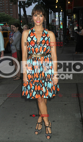 NEW YORK CITY, NY - August  01, 2012: Rashida Jones at the screening of 'Celeste and Jess Forever' at the Sunshine Landmark Theater in New York City. &copy; RW/MediaPunch Inc. /NortePhoto.com<br />