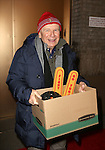 Terrence McNally and the cast from 'It's Only A Play' head to their new home at the Bernard B. Jacobs Theatre on January 23, 2014 in New York City.