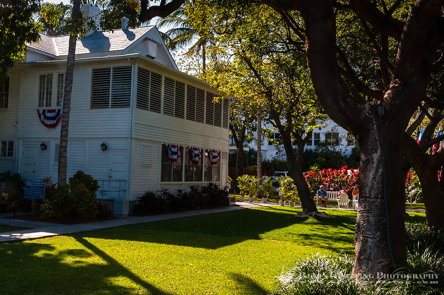 US, Florida, Key West. Truman Little White House.