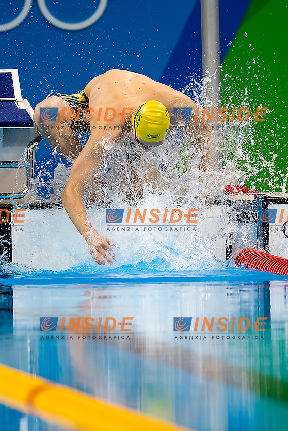 Horton Mack AUS<br /> 400 freestyle men<br /> Rio de Janeiro 06-08-2016 XXXI Olympic Games <br /> Olympic Aquatics Stadium <br /> Swimming finals 06/08/2016<br /> Photo Giorgio Scala/Deepbluemedia/Insidefoto