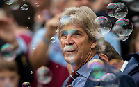 West Ham Utd Manager Manuel Pellegrini during the Premier League match between West Ham United and Manchester United at the Olympic Park, London, England on 22 September 2019. Photo by Andy Rowland / PRiME Media Images.