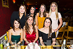 Tina Pierce, Caseway celebrates her 24th birthday with friends at Ristorante Uno on Saturday Pictured front l-r Kaylee Power, Tina Pierce, Siobhan Pierce, Back l-r Laura Marshall, Casey O'Connor, Elaine O'Connor, Karen Murphy