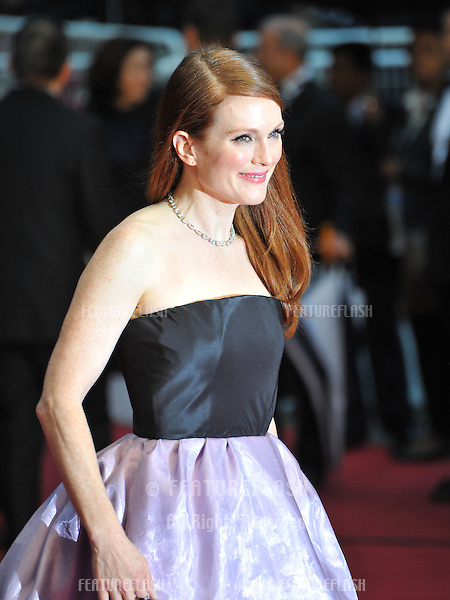 "Julianne Moore at the premiere of ""The Great Gatsby"" the opening movie of the 66th Festival de Cannes..May 15, 2013  Cannes, France.Picture: Paul Smith / Featureflash"