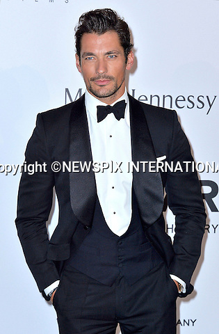 12.05.2015, Antibes; France: DAVID GANDY<br /> attends the Cinema Against AIDS amfAR gala 2015 held at the Hotel du Cap, Eden Roc in Cap d'Antibes.<br /> MANDATORY PHOTO CREDIT: &copy;Thibault Daliphard/NEWSPIX INTERNATIONAL<br /> <br /> (Failure to credit will incur a surcharge of 100% of reproduction fees)<br /> <br /> **ALL FEES PAYABLE TO: &quot;NEWSPIX  INTERNATIONAL&quot;**<br /> <br /> Newspix International, 31 Chinnery Hill, Bishop's Stortford, ENGLAND CM23 3PS<br /> Tel:+441279 324672<br /> Fax: +441279656877<br /> Mobile:  07775681153<br /> e-mail: info@newspixinternational.co.uk