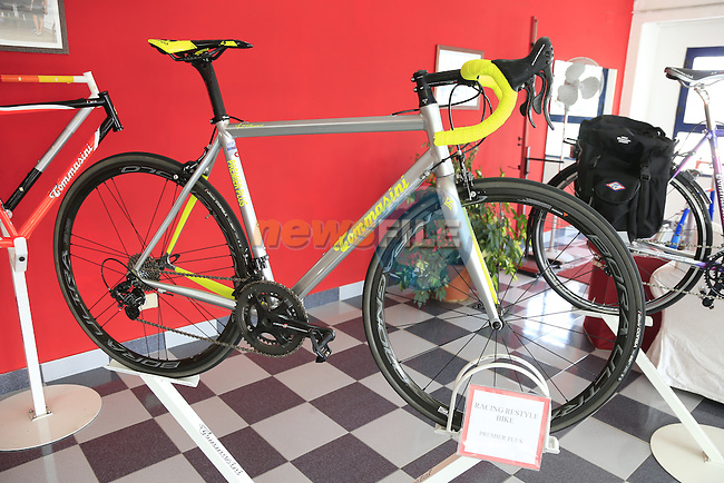 The Premier Plus model in the showroom at the Tommasini factory based in Grosseto, Tuscany, Italy 6th March 2017.<br /> Picture: Eoin Clarke | Newsfile<br /> <br /> <br /> All photos usage must carry mandatory copyright credit (© Newsfile | Eoin Clarke)