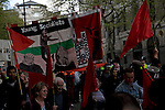 May Day march and rally at Trafalgar Square, May 1st, 2010 Young Socialists