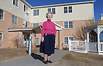 Site manager for Holy Trinity Manor Sister Ruth Ann Hehn stands outside the facility that houses low income elderly and disabled people earlier this week. Hehn, 71, says she loves the people that work for the poor and social justice are what is special about Laramie County.  Michael Smith/staff