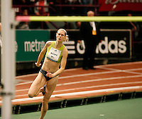 Amy Acuff won the John Thomas Women High Jump with a mark of 1.92m. at the 101st. Millrose Games.Photo by Errol Anderson,The Sporting Image..