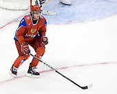 Dmitri Kulikov (Russia - 3) - Canada defeated Russia 6-5 on Saturday, January 3, 2009, at Scotiabank Place in Kanata (Ottawa), Ontario during the 2009 World Junior Championship.
