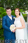 Christina Carroll, Causeway, daughter of Maurice and Christina Carroll, and Tommy Finucane, Ballydesmond, son of Tom and Mary Finucane were married at St. John the Baptist, Causeway by Fr. Brendan Walsh on Friday 3rd July 2015 with a reception at Ballygarry House hotel