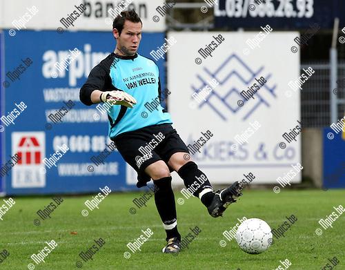 2009-10-18 / Voetbal / seizoen 2009-2010 / Kapellen FC - KM Torhout / Bernd Brughmans..Foto: mpics