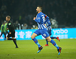 16.03.2019, OLympiastadion, Berlin, GER, DFL, 1.FBL, Hertha BSC VS. Borussia Dortmund, <br /> DFL  regulations prohibit any use of photographs as image sequences and/or quasi-video<br /> <br /> im Bild Vedad Ibisevic (Hertha BSC Berlin #19)<br /> <br />       <br /> Foto © nordphoto / Engler