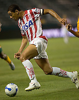 Necaxa Fwd and Team Captian Fabiano Pereira. Necaxa defeated LA Galaxy in an International friendly match 1-0 at The Home Depot Center in Carson, California, Wednesday July 12, 2006.