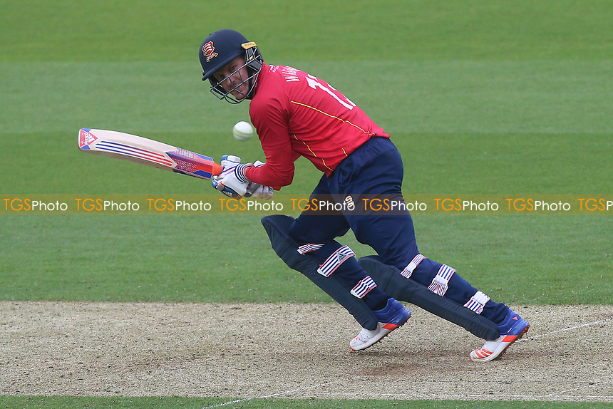 Neil Wagner in batting action for Essex during Surrey vs Essex Eagles, Royal London One-Day Cup Cricket at the Kia Oval on 2nd May 2017