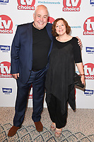 Cliff Parisi and Annabelle Apsion<br /> arriving for the TV Choice Awards 2017 at The Dorchester Hotel, London. <br /> <br /> <br /> ©Ash Knotek  D3303  04/09/2017