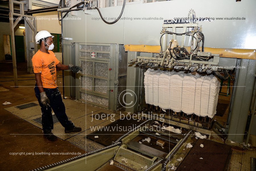 Burkina Faso, Bobo Dioulasso, Sofitex Cotton Company