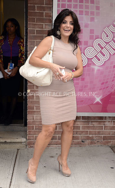 WWW.ACEPIXS.COM . . . . .  ....May 16 2012, New York City....Reality show star Kathy Wakile outside a TV show on May 16 2012 in New York City....Please byline: CURTIS MEANS - ACE PICTURES.... *** ***..Ace Pictures, Inc:  ..Philip Vaughan (212) 243-8787 or (646) 769 0430..e-mail: info@acepixs.com..web: http://www.acepixs.com