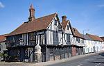Tudor timber framed building the Old Siege House, Colchester, Essex