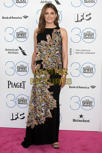 SANTA MONICA, CA - FEBRUARY 21: Stana Katic at the 30th Film Independent Spirit Awards in Santa Monica, California on February 21, 2015. <br /> CAP/MPI/DC/DE<br /> &copy;DE/DC/MPI/Capital Pictures