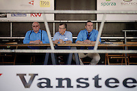"start podium officials<br /> <br /> 99th (open) Flemish Championships 2014<br /> (""Kampioenschap van Vlaanderen"")"