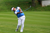 Prom Meesawat (THA) on the 1st fairway during Round 2 of the 100th Open de France, played at Le Golf National, Guyancourt, Paris, France. 01/07/2016. <br /> Picture: Thos Caffrey | Golffile<br /> <br /> All photos usage must carry mandatory copyright credit   (&copy; Golffile | Thos Caffrey)