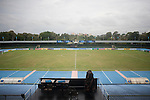 Stadium and Boards  during the 2014 AFC President's Cup Final Stage Group B match on September 2014 at the Sugathadasa Stadium in Colombo, Sri Lanka. Photo by World Sport Group
