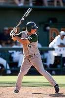 Luke Yoder of Cal Poly playing against Oral Roberts University in the Tempe Regionals at Packard Stadium, Tempe, AZ - 05/29/2009.Photo by:  Bill Mitchell/Four Seam Images