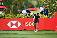 SINGAPORE - MARCH 03: Jodi Ewart Shadoff of England on the 3rd tee during the final round of the HSBC Women's World Championship 2019 at Sentosa Golf Club - Tanjong Course, Singapore on March 03, 2019.<br /> .<br /> .<br /> .<br /> (Photo by: Naratip Golf Srisupab/SEALs Sports Images)<br /> .<br /> Any image use must include a mandatory credit line adjacent to the content which should read: Naratip Golf Srisupab/SEALs Sports Images