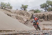 CHILECITO,ARGENTINA,17.JAN.18 - MOTORSPORTS, RALLY - Rally Dakar 2018,  stage 11, Belen - Fiambala - Chilecito. Image shows Toby Price (AUS/ KTM). Photo: Sport the library / Red Bull Content Pool/ Flavien Duhamel - ATTENTION - FREE OF CHARGE FOR EDITORIAL USE