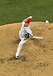 15 June 2012: Washington Nationals pitcher Brad Lidge on the mound against the New York Yankees at Nationals Park in Washington, DC. The Yankees defeated the Nationals 7-2 in the first game of their 3-game series. Mandatory Credit: Ed Wolfstein Photo