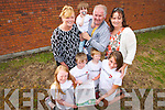 The Connolly Park Gathering Family Day. Pictured front, from left: Laura Somers, Micheal and Jack Kearney with Michaela Sugrue. Back, from left: Bernie Somer, Sean, John and Tracey Kearney.