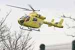 Yorkshire Air Ambulance Lands on Rotherham School Grounds