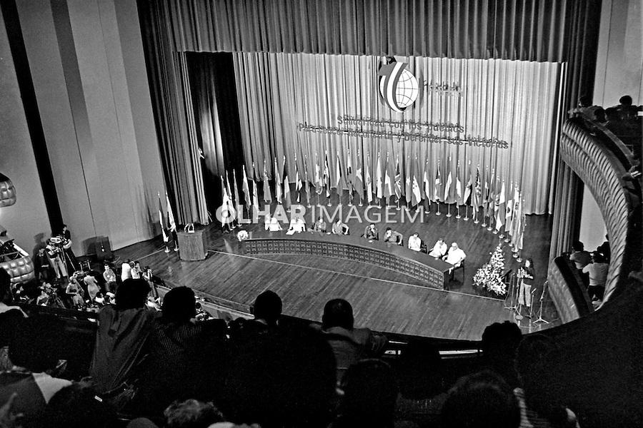 Junta de governo da revolução Sandinista. Manágua, Nicarágua. 1981. Foto de Juca Martins.