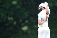 Monty Panesar of Hornchurch warms up during Shenfield CC (batting) vs Hornchurch CC (Bowling) ,Shepherd Neame Essex League Cricket at Chelmsford Road on 12th May 2018
