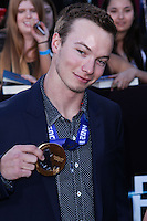 """WESTWOOD, LOS ANGELES, CA, USA - MARCH 18: David Wise at the World Premiere Of Summit Entertainment's """"Divergent"""" held at the Regency Bruin Theatre on March 18, 2014 in Westwood, Los Angeles, California, United States. (Photo by David Acosta/Celebrity Monitor)"""