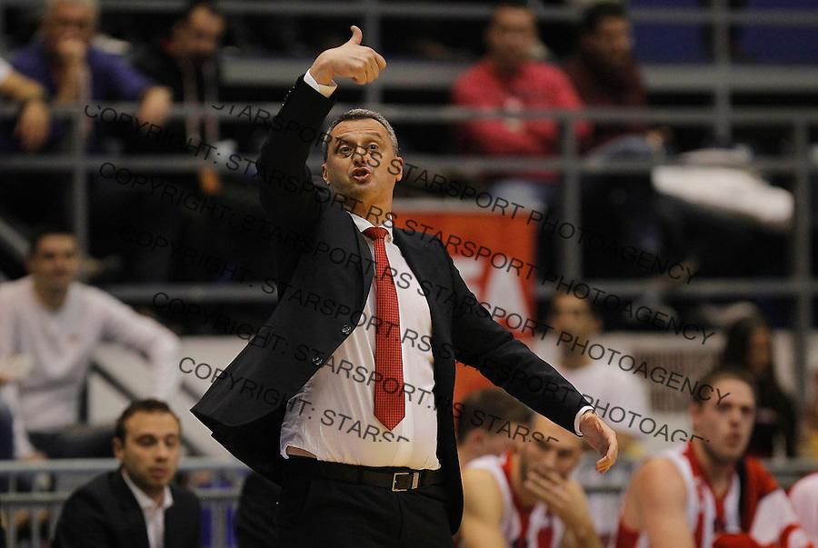 Kosarka ABA League season 2015-2016<br /> Crvena Zvezda v Partizan<br /> head coach Dejan Radonjic<br /> Beograd, 03.11.2015.<br /> foto: Srdjan Stevanovic/Starsportphoto&copy;