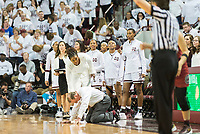 Women's Basketball: MSU vs South Carolina Home Game<br /> (photo by Marco Lopez / &copy; Mississippi State University)