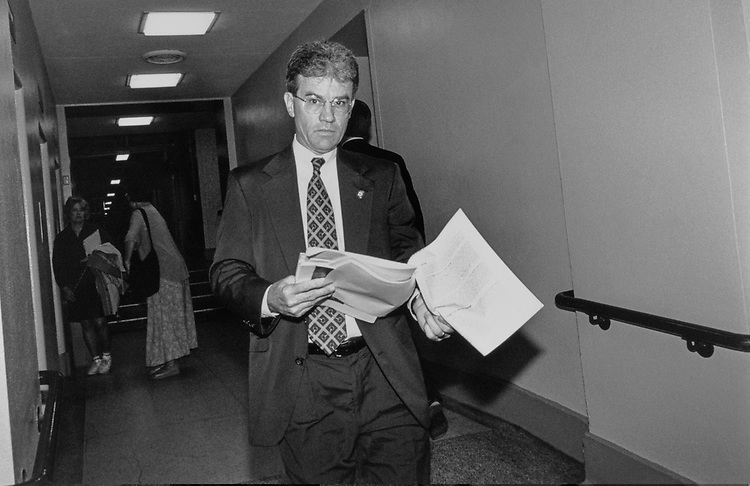 Rep. Tom Coburn, R-Okla. in July, 1997. (Photo by Maureen Keating/CQ Roll Call)