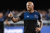 SAN JOSE, CA - AUGUST 25: Magnus Eriksson #7 of the San Jose Earthquakes during a game between Vancouver Whitecaps FC and San Jose Earthquakes at Avaya Stadium on August 24, 2019 in San Jose, California.