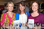 Race Night - Having a great night out at the Race Night held in aid of Churchill GAA Club in The Oyster Tavern, The Spa on Friday night were l/r Adrienne O'Carroll, Ardfert, Margaret Hanafin, The Spa and Sandra Hickey, The Spa.