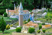 Belgium, Brussels: Mini-europe | Belgien, Bruessel: Mini-Europa ist ein Teil des Laken-Parks
