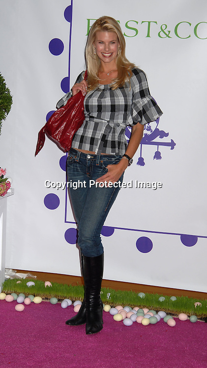 "Beth Ostrosky.. at the 16th annual Bunny Hop at ..FAO Schwarz benefitting ""The Society of Memorial Sloan-..Kettering Cancer Center  on March 13, 2007. ..Robin Platzer, Twin Images"
