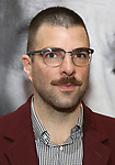 Zachary Quinto attends the Broadway Opening Night Performance of 'Present Laughter' at St. James Theatreon April 5, 2017 in New York City