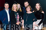 front Lorraine Dineen and Patsy Dineen, back l-r Paudie Dineen, Katherine McCarthy, Mike Dineen and Fiona Dineen all from Rathmore pictured at Rathmore Strictly Come Dance in the INEC, Killarney last Thursday night.